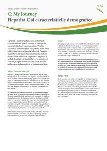 hepatita C caracteristici